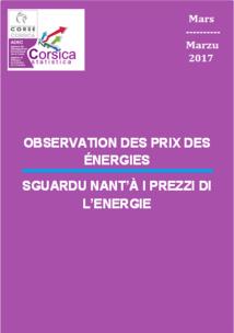 Observation des prix des énergies - Mars 2017