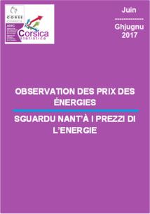 Observation des prix des énergies - Juin 2017