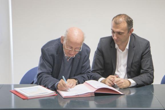 Signature de la convention de partenariat avec Inizià