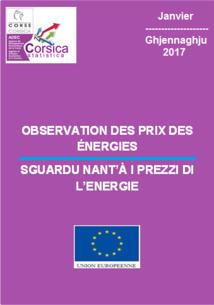 Observation des prix des énergies - Janvier 2018