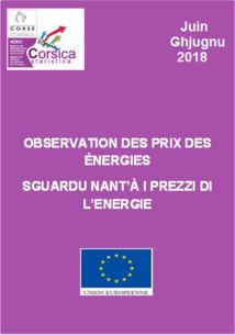Observation des prix des énergies - Juin 2018