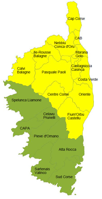 Données de cadrage région Corse