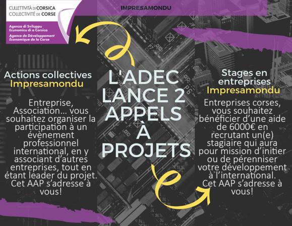 Impresamondu : 2 appels à projets pour se développer à l'international ! [⏳‼️PROLONGATION JUSQU'AU 15 DÉCEMBRE‼️⏱]