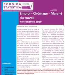 Emploi - Chômage - Marché du travail au 4e trimestre 2019