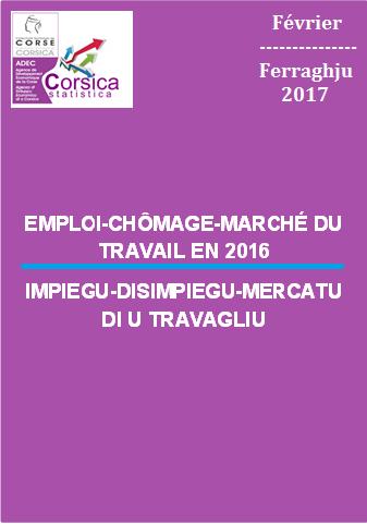 Emploi-Chômage-Marché du travail en 2016