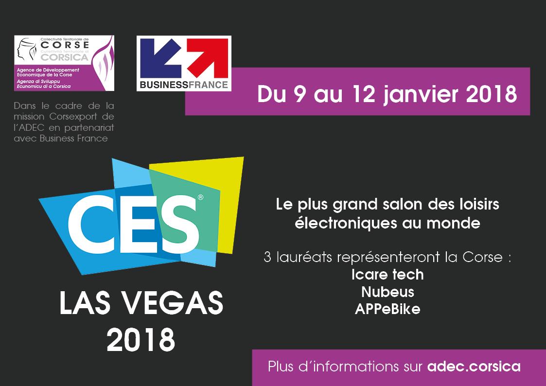 CES 2018 : 3 lauréats représenteront la Corse
