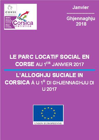 Le parc locatif social en Corse au 1er janvier 2017