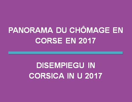 Panorama du chômage en Corse en 2017
