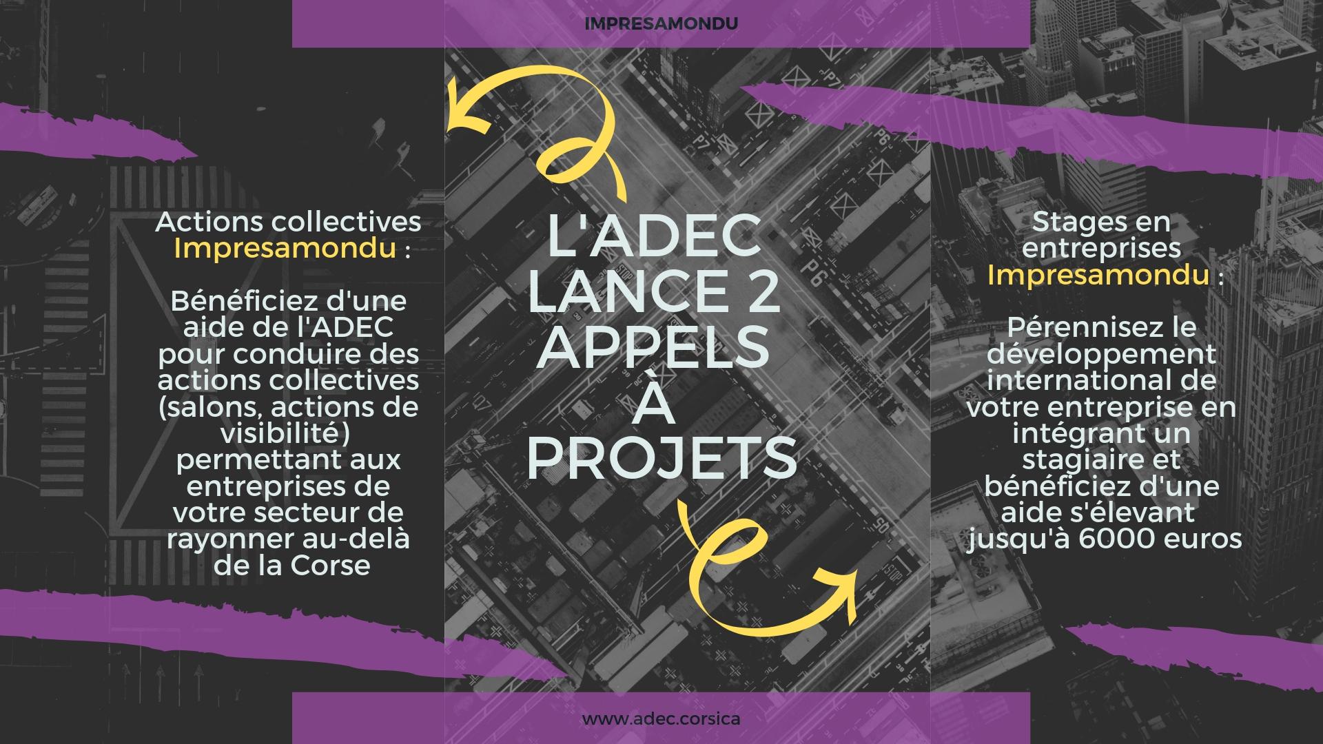 Impresamondu : 2 appels à projets pour se développer à l'international !