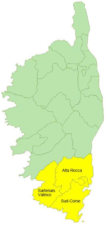 Données de cadrage EPCI : Alta Rocca, Sartenais-Valinco et Sud-Corse