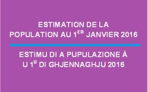 Estimation de la population au 1er janvier 2016