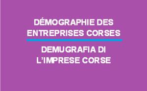 Démographie des entreprises Corses en 2016