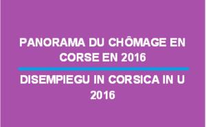 Panorama du chômage en Corse en 2016