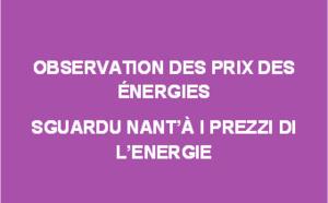 Observation des prix des énergies