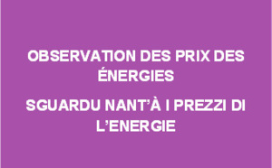 Observation des prix des énergies - Avril 2019