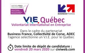 OFFRE DE MISSION 🌎[V.I.E Québec] ✈️