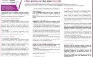 ⚠️#Covid19 LA COLLECTIVITÉ DE CORSE À TRAVERS L'ADEC SE MOBILISE POUR SES ENTREPRISES