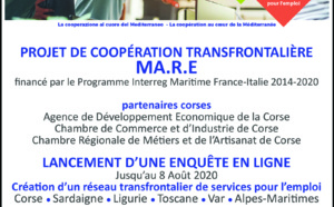 🌊PROJET DE COOPÉRATION TRANSFRONTALIÈRE MA.R.E ✍️ENQUÊTE EN LIGNE ⏰Jusqu'au 8 Août