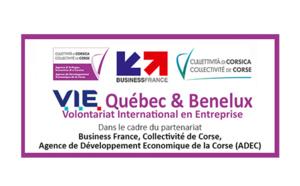 🌎L'ADEC intègre deux V.I.E. Volontariat International en Entreprise [Québec & Benelux] au sein de son équipe !