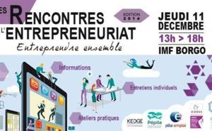 L'ADEC partenaire des Rencontres de l'Entrepreneuriat jeudi 11 décembre 2014 à l'IMF de Borgo