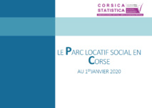 Le parc locatif social en Corse au 1er janvier 2020