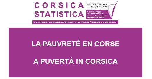 La pauvreté en Corse en 2016