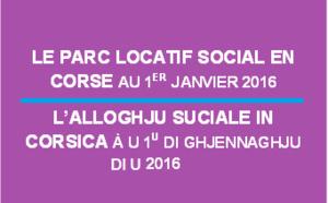 Le parc locatif social en Corse au 1er janvier 2016