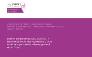 Bilan et perspectives ADEC 2015-2017