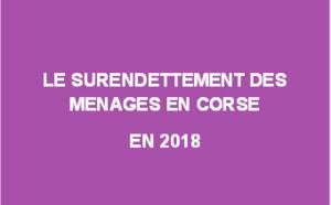 Le surendettement des ménages en Corse en 2018