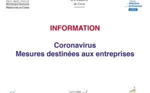 ⚠️#CoronavirusCorse [Cellule d'appui et d'action aux entreprises impactées par le COVID 19]