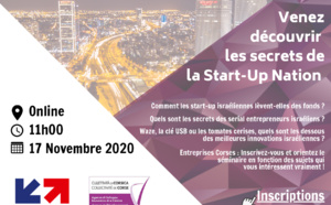 🗓SAVE THE DATE [💻WEBINAIRE] 17 Novembre à 11h / ADEC Business France
