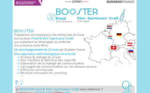ADEC & Business France [💻WEBINAIRE] 4 Mars à 11h 🔹Venez découvrir le programme BOOSTER Food & Vins Spiritueux Craft Zhone Rhénane