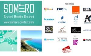 Première édition du SOMERO CONTEST (Social Media Round) du 4 au 7 juin à Calvi avec le soutien de l'ADEC